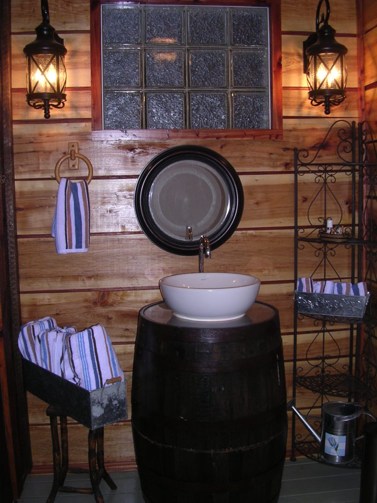 Ranch Suite Barrel Sink